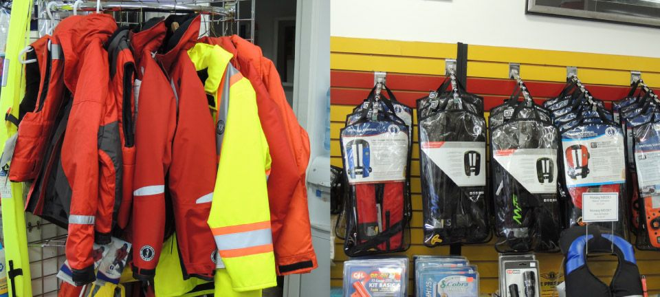 Flotation jackets and devices